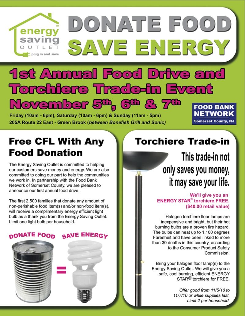 Food Drive Flyer