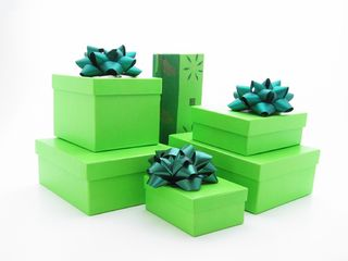 Green gifts dreamstime_103270